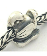 Authentic Trollbeads Sterling Silver Duckling Bead Charm 11229, New - $29.44