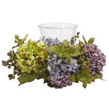 Mixed Hydrangea Candelabrum Silk Arrangement - $48.61