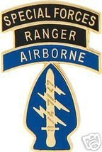 Army Special Forces Ranger Airborne Military Hat Pin - $18.04