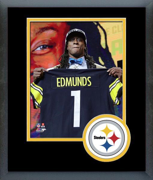 Terrell Edmunds Steelers 2018 NFL Draft  28 Draft Pick-11x14 Matted Framed  Photo c19cea8ba