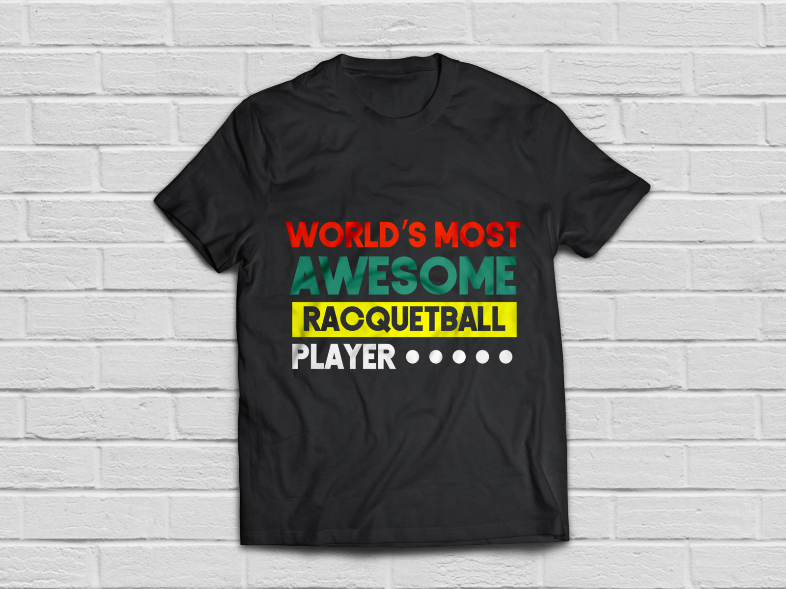 Racquetball player shirt - Funny racquetball clothing - T ...