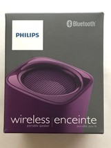 Philips BT100v/27 Wireless Portable Bluetooth Speaker, Purple - €22,17 EUR