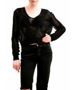 Suéter De Punto De Algodón De Playa NBW Wildfox Mujer Negro Talla M - $89.51