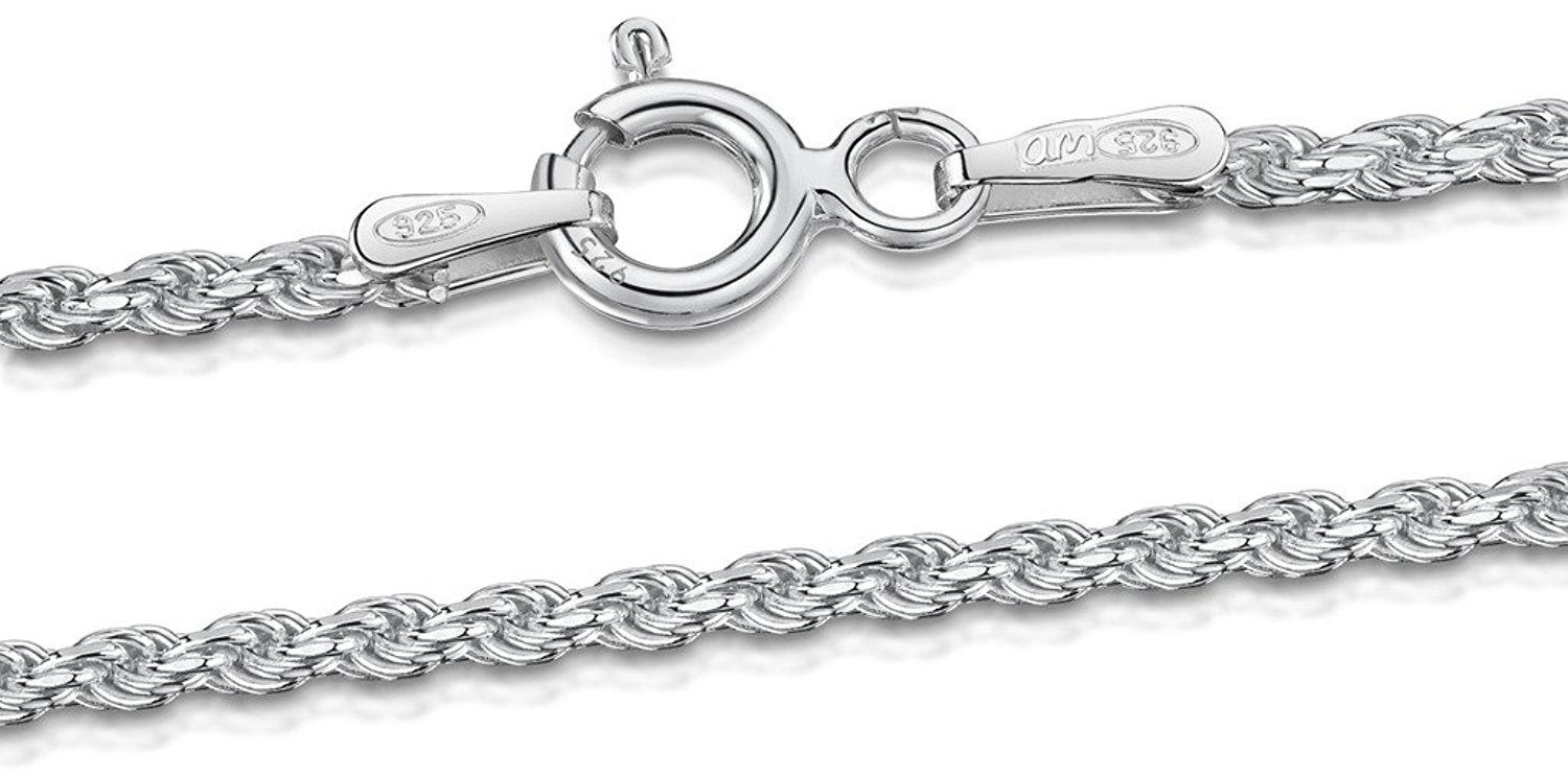 5 GENUINE STERLING SILVER 925 ROPE TOGGLE CLASPS
