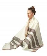 Meditation or Prayer Shawl, Buddha Blanket, Oversize Scarf, or Wool Wrap... - $39.99