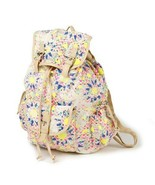 Neon Mosaic Design Backpack School Book Bag - NWT - $37.56