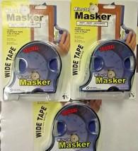 """Minute Masker 65752 Blue Painters Tape & Dispenser 1/2"""" x 30yds 3 PKS - $6.93"""
