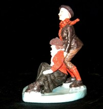"""""""Skaters"""" by Norman Rockwell Figurine AA19-1661 Vintage image 2"""