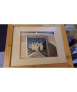 Taos, NM Pueblo Mission Church St. Francis Frame & Matted Photograph WJ ... - $148.50