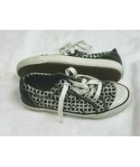 COACH Size 5.5 Women's Barrett Black Signature Monogram Canvas Sneaker S... - $34.65