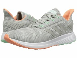 Women Adidas Duramo BB7006 Color Grey/Grey/Chalk Coral  - $39.99
