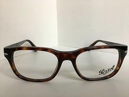 New Persol 3095-V 24 Polished Tortoise 53mm Rx Eyeglasses Frame Italy - $179.99