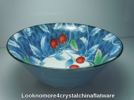 Williams Sonoma WSO22 Cherries Large Footed Rice Bowl New - $33.65
