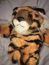 "Vintage Animal Puppet 10"" Tiger Cat - $17.81"