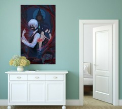 3D Tokyo Ghoul Boy D113 Japan Anime Wall Stickers Wall Mural Decals Wendy - $19.22+