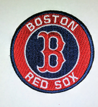 BOSTON RED SOX   iron on embroidered embroidery patch baseball  logo mlb homerun - $8.95