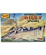 The Lindberg Line Destroyer Escort Riley By Paul Lindberg Kit No. 880:50... - $59.39