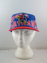 Kansas Jayhawks Hat (VTG) - Oversize Script by Apex One - Adult Snapback - $75.00