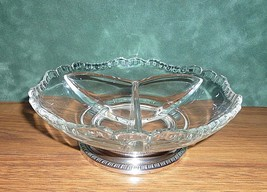 Vintage Cambridge Glass 3500 Gadroon 3 Part Rel... - $25.20
