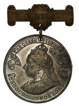1900 Queen Victoria School Board for London medal - $34.36