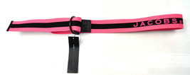 MARC JACOBS Black Pink Cotton BELT ONE SIZE NWT - $29.70