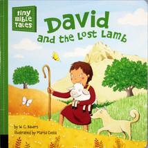 David And The Lost Lamb Tiny Bible Tales Boardbook Christian Book 3-5 Ye... - $9.62