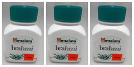 3 BOTTLES! Himalaya Brahmi BACOPA 180 Capsules Reduce Anxiety Depression... - $24.00