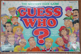 GUESS WHO MYSTERY FACE GAME 1998 MILTON BRADLEY #4800 COMPLETE MADE IN USA - $15.00