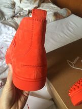 Suede Lou Authentic Louboutin Spikes Size 8 New Capucine Christian Sneakers Cq5StvWwtd