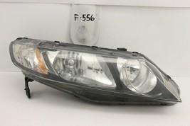 Used Oem Headlight Headlamp Head Light Lamp Honda Civic Sedan 06-11 Chip Mount - $64.35
