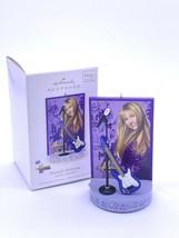 Hallmark Keepsake Ornaments Hannah Montana Magic Features Sound New in Box - $13.00