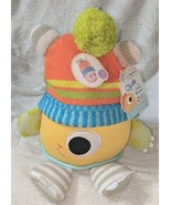 Babyaspen BA11036NA Clyde The Closet Monster Baby Hat And Plush 0 To 6 M... - $30.00