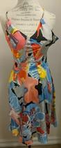 A/X Armani Exchange Silk Spaghetti Strap Sundress A-Line Dress Size P0 (... - $38.61