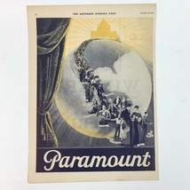 Vintage 1924 Magazine Print Ad for Paramount The Saturday Evening Post - $28.22