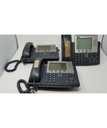 Lot of 3 Cisco 7961G IP Telephones CP-7961G  - $8.90