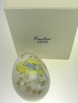 Noritake Easter Egg 1976 Limited Edition Bone China Made in Japan - $8.38