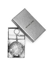 MICHAEL Michael Kors Disco-Pom Pom-Key Fob-silver - $75.24