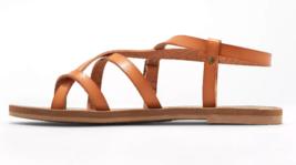 Universal Thread Women's Faux Leather Lavinia Toe Wrap Thong Sandal Vegan NWT image 2