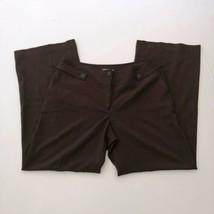 Ann Taylor Loft Women's Size 12 Brown Straight Dress Pants - $19.78