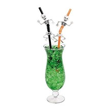 Halloween Skeleton Straws - Party and Events - $20.18