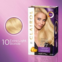 Clairol Age Defy Permanent Hair Dye, 10 Extra Light Blonde Hair Color, 1... - $14.04