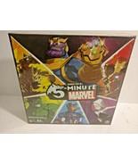 Marvel 5 Minute Conner Reid Card Board Game Hulk Avengers Sealed New  - $29.11