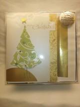 """Hallmark Boxed Lot Of 14 Christmas Cards  """"Christmas Tree""""  NIB Holiday ... - $12.87"""