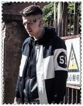 The Best Quality Uk Size XS-L 2018 Fashion Stylish Mens Motorcycle Leath... - $40.08