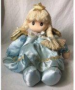 Musical Angel Doll Plays It's A Small World Wind Up by Berkley Designs - $12.95
