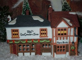 DEPT 56 DICKENS VILLAGE -THE OLD CURIOSITY SHOP BUILDING HOUSE-MINT IN BOX - $19.31