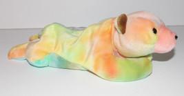 Ty Beanie Baby Sammy Plush Bear 9in Tie Dye Stuffed Animal Retired with Tag - $9.99