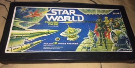 VTG 1970's Tara Toy Corp Star World Action Figure Case Holds 12 Figures ... - $12.82
