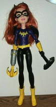 "Mattel DC Super Hero BATGIRL Doll 12"" - $14.60"
