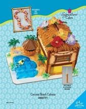 BEACH LUAU HAWAII Cake Topper Decoration KIT Cupcake House Surfing Birth... - $25.69